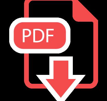 icono de descarga pdf